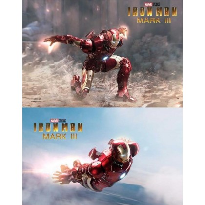 ZD Toys MK3 Iron Man With LED Version Action Figure